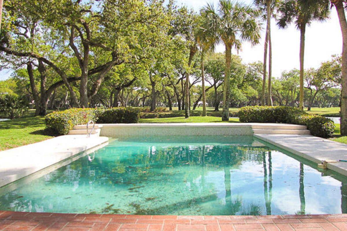 350 Sabal Palm Pool View