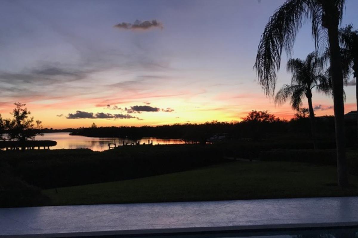 185 Sago Palm Sunset Client Pix